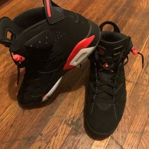 Air Jordan's Blk & Red